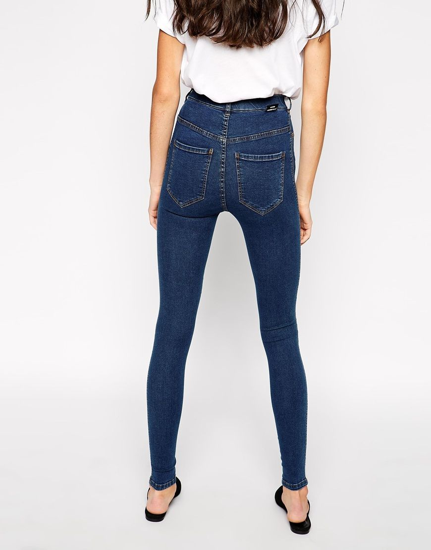 Dr denim high waist skinny jeans – Global fashion jeans models