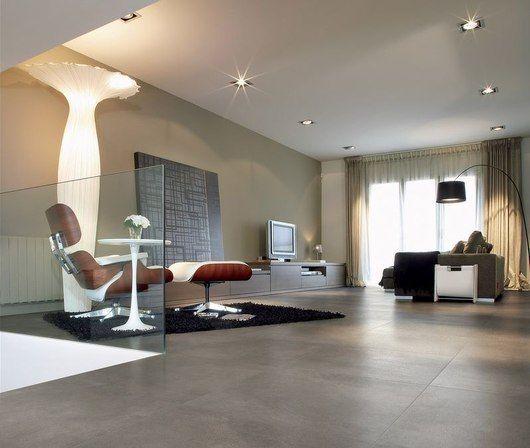 gray flooring Cercom Genesis Mineral are gray floor tiles for a - fliesen braun wohnzimmer