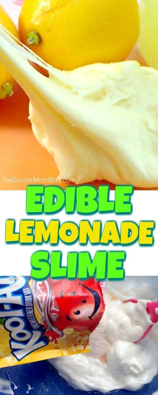Quick Edible Slime Recipes #edibleslime