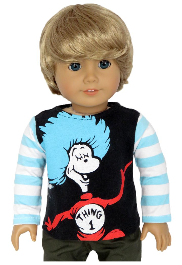 Silly Monkey - Upcycled Thing 1 Top (American Boy/Girl, $9.99 (http://www.silly-monkey.com/products/upcycled-thing-1-top-american-boy-girl.html)