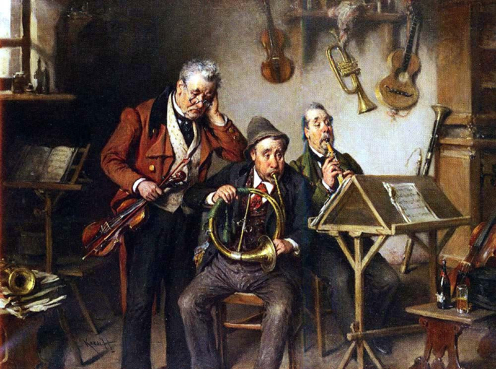 19th Century Realism Lifelong Friendship Музыка