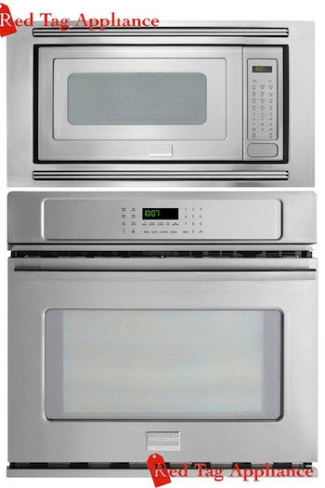 Frigidaire Professional 27 Stainless Steel Electric Wall Oven Microwave Combo Fpew2785pf Fpmo209kf Mwtkp27kf Liances
