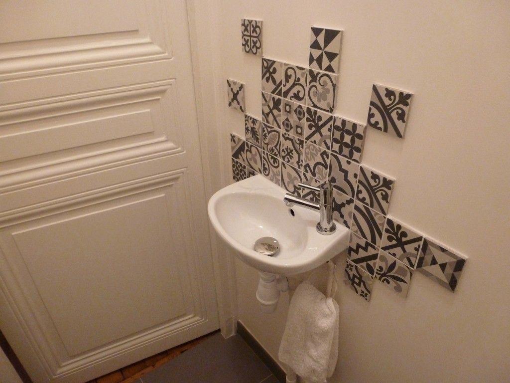 j 39 habite en location mais toilettes pinterest salle de bain lave main wc et salle. Black Bedroom Furniture Sets. Home Design Ideas