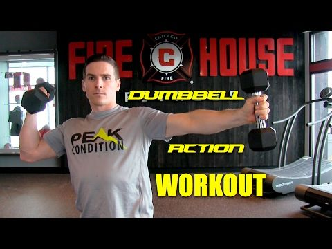 Dumbbell Action Workout   YouTube