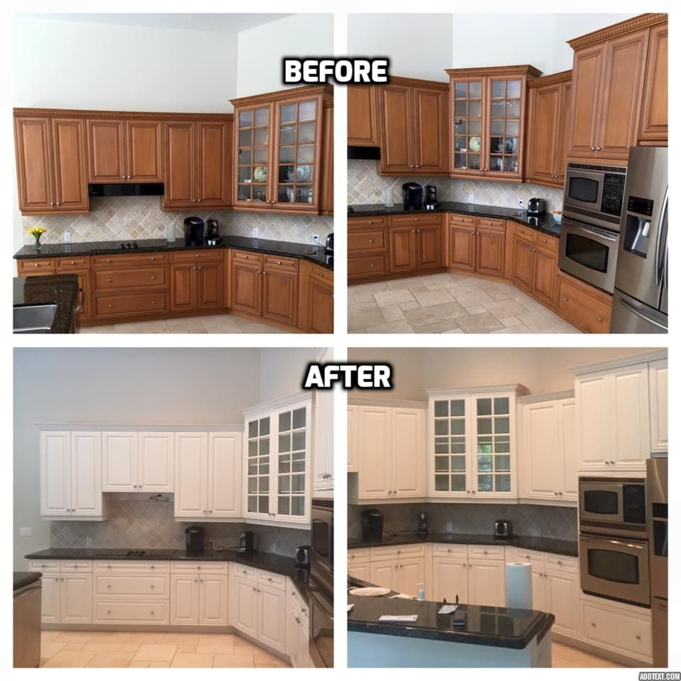 Located In Vero Beach Kitchen Cabinet Painters Professional