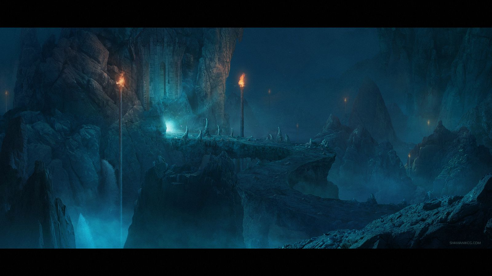Image result for dark cave