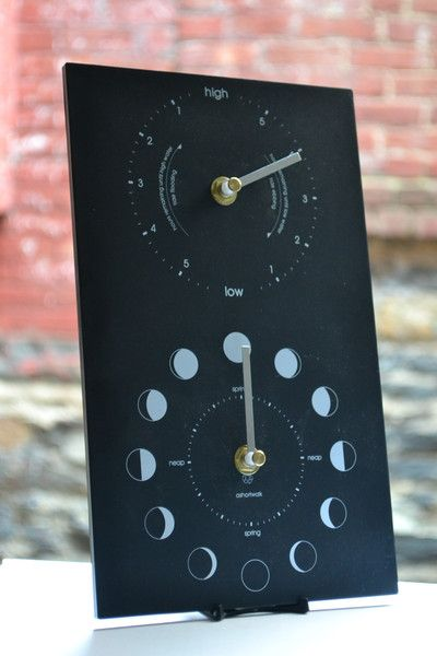 Moon And Tide Clock From Wilderness Of Wish Hang One Of