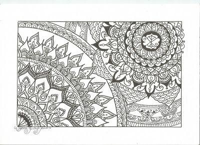 habyb abud arte terapia e lettering nova mandala para imprimir