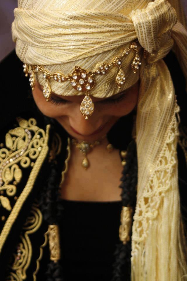 Algerian Fashion Algerian Jewelry Karakou, Robe