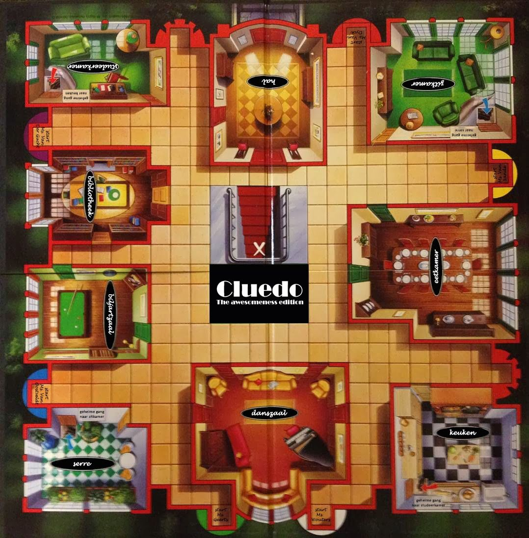 Games: Pin By Mylène Gauter On Projet Cluedo