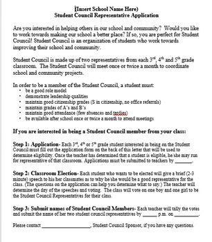 Student Council Sponsor Packet Speech Example Essay Ideas Idea