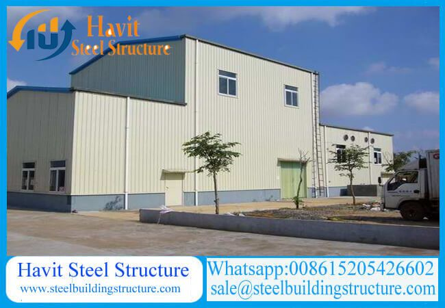 Prefab Steel Warehouse Design And Fabricated According Customer S Requirements Flexible Dimension Large Span Steel Structure Buildings Steel Structure Prefab
