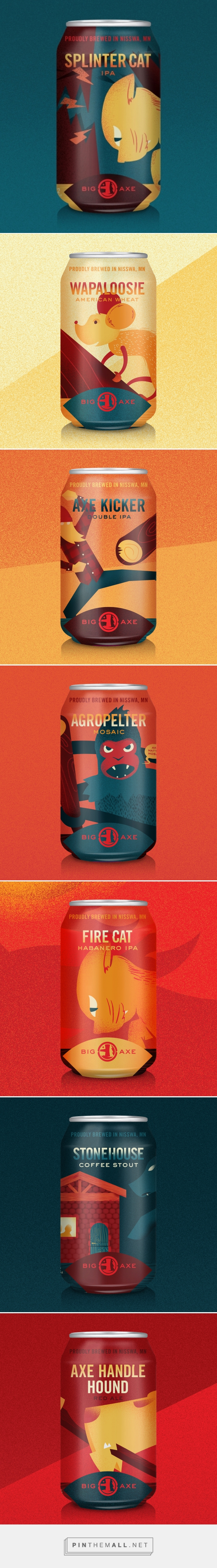 Big Axe Brewing Co Oh Beautiful Beer Created Via Https Pinthemall Net Beautiful Beer Brewing Co Beer Design