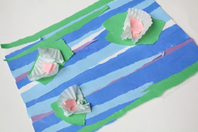 Photo of Water Lily Paper Craft