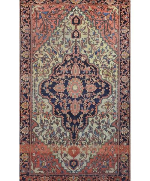 Persian Saroukh Faraghan Antique Rugs 3 500 00 Carpet Culture Rug Store In Manhattan Carpet Cleaners On Sale Antique Rugs Rugs Rug Store