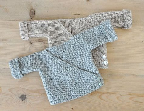 Photo of ulma: wrap jacket for little earth guests – knitted —- cute – knitted …