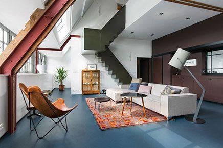 Ontwerp loft appartement oud schoolgebouw in amsterdam ideeën voor