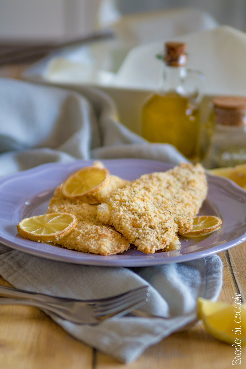Photo of Breaded sole fillets in the oven – Pamper broth