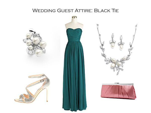 How To Dress For A Black Tie Wedding From Mariell