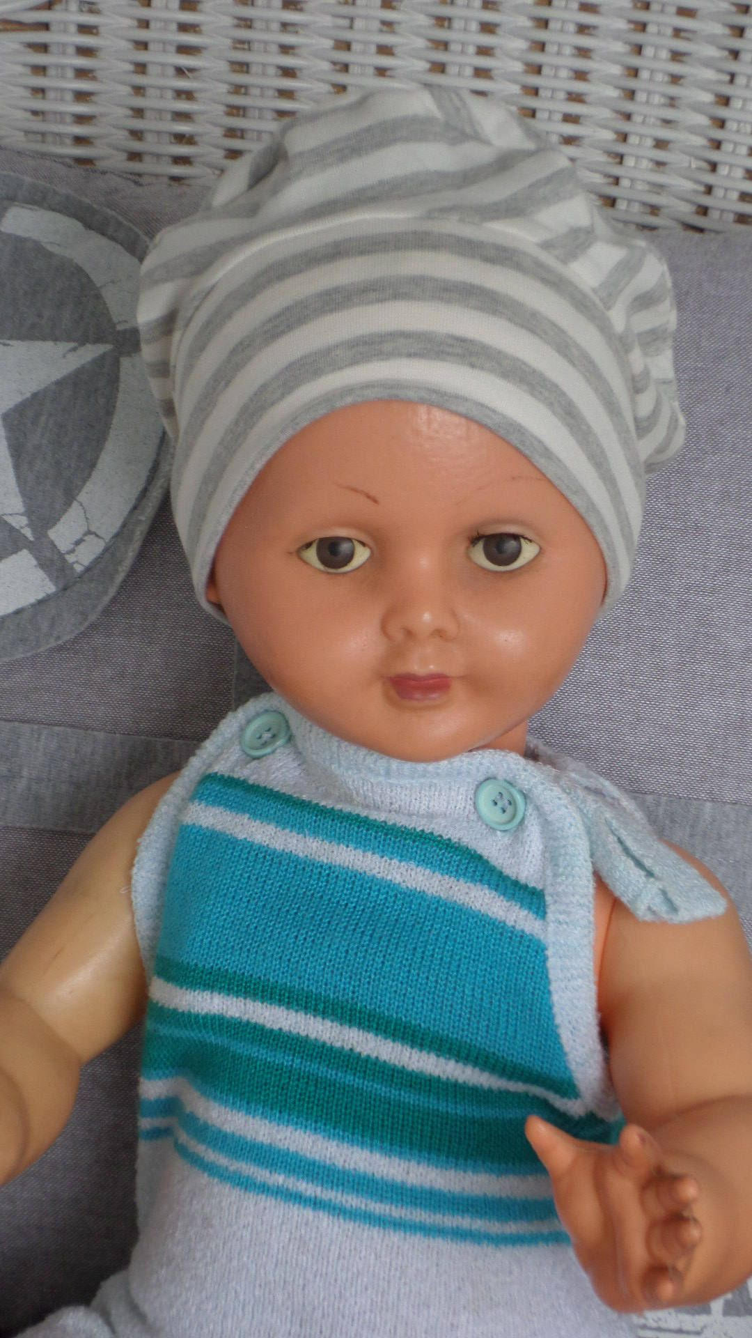 bonnet béret chapeau bébé marin créateur lin eva de la boutique  LESIDEESDELINEVA sur Etsy 58f4f74c44e