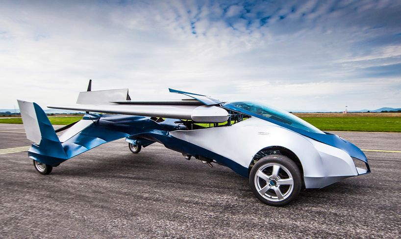 The Aeromobil Collapsable Flying Car Takes To Sky