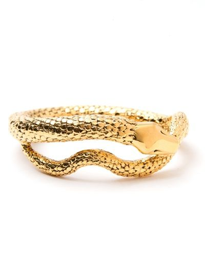 Shop now: Aurelie Bidermann Tao Snake Bracelet
