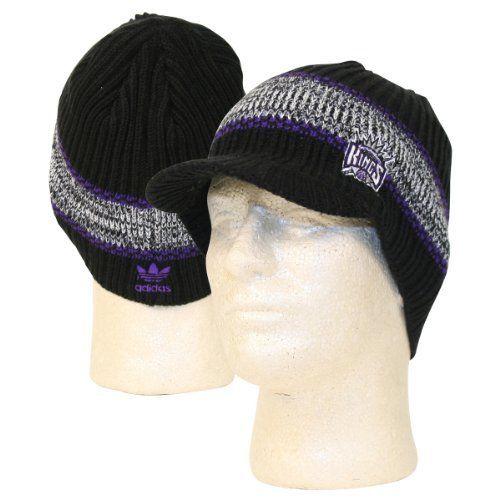 NBA Adidas Bill Front Beanie   Knit Hat - Sacramento Kings by adidas.   14.95. 2e265923b99