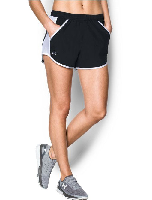 1e871b849923 Shop Under Armour for Women s UA Fly-By Shorts in our Women s Running Shorts  department. Free shipping is available in US.