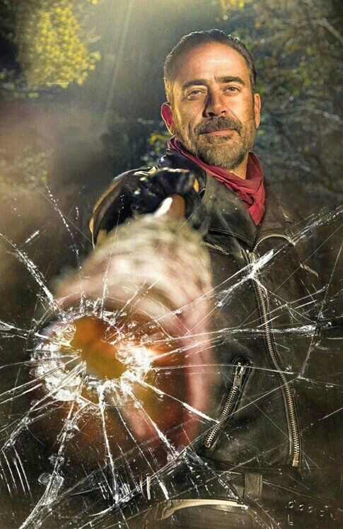 Ooooh Negan youve Smashed my Screen.