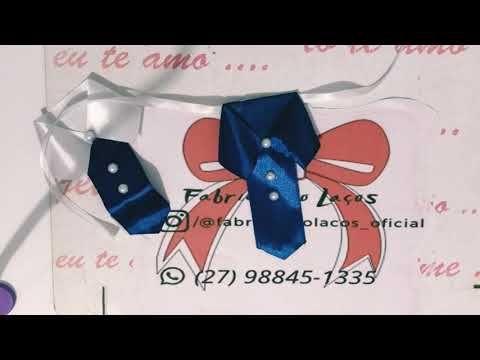 Gravata com colarinho para Pet - gravata social super fácil de fazer - YouTube
