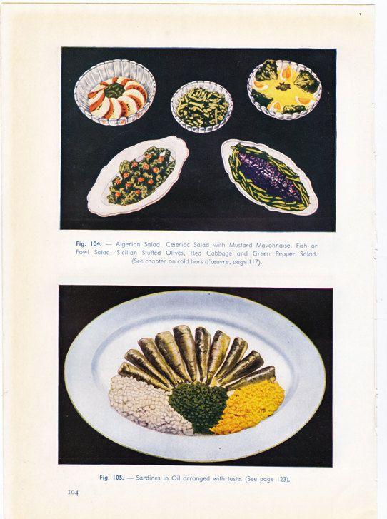 vintage French food photo #vintagefrench #classiccuisine #frenchcuisine #culinaryart #foodphotography #uniquekitchendecor