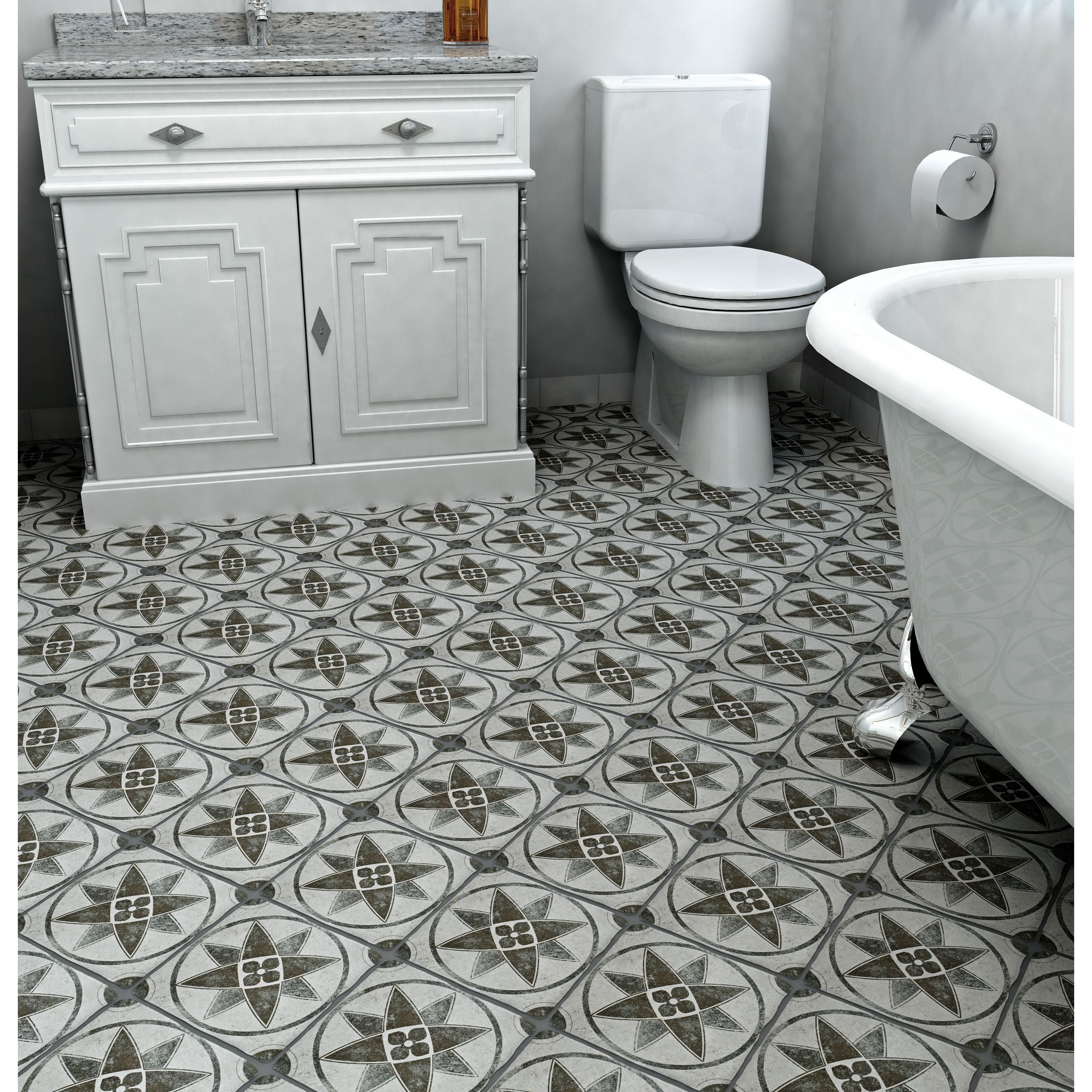 Printed floor tile home goods free shipping on orders over 45 at printed floor tile home goods free shipping on orders over 45 at overstock dailygadgetfo Images