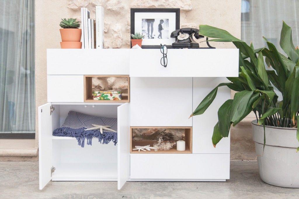 Aparador Daniela, un aparador elegante y minimalista Collection - mueble minimalista