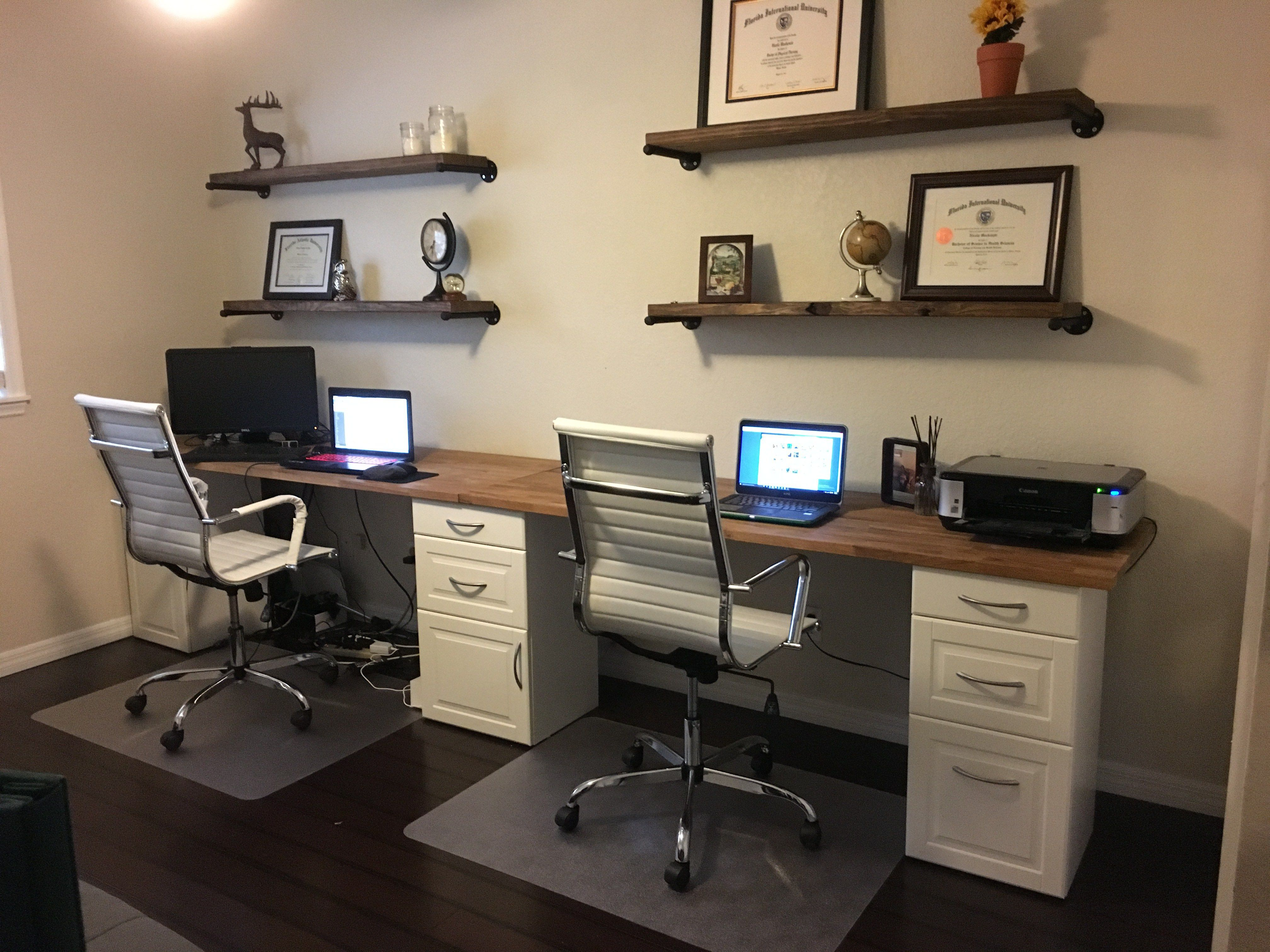 DIY Office Space Home, Home office decor, Home office