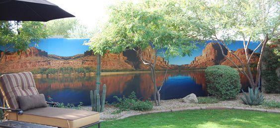 Outdoor Beach Murals Wall Sensations Natural For Exterior Printing
