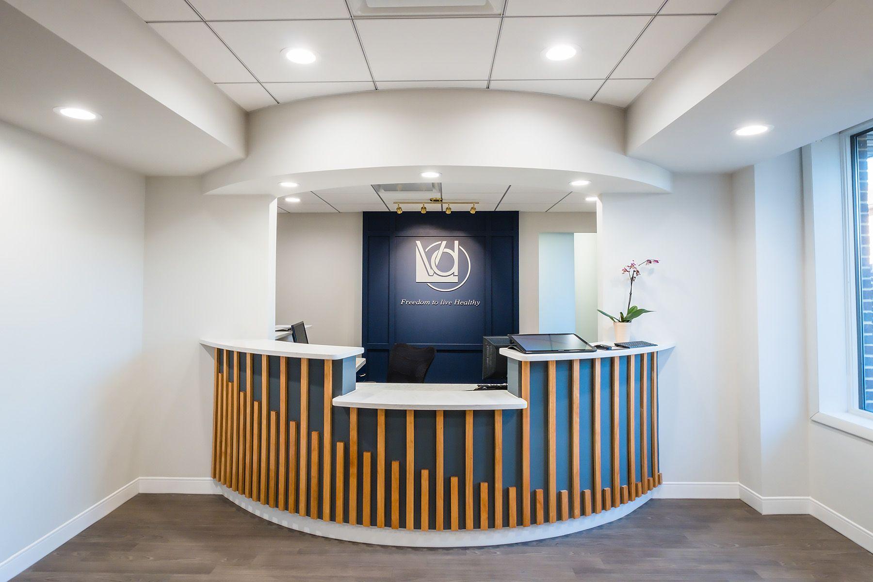 doppalapudi periodontics dental implant surgery reception desk rh pinterest com