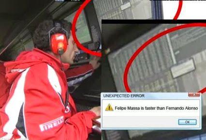 Unexpected event and Ferrari