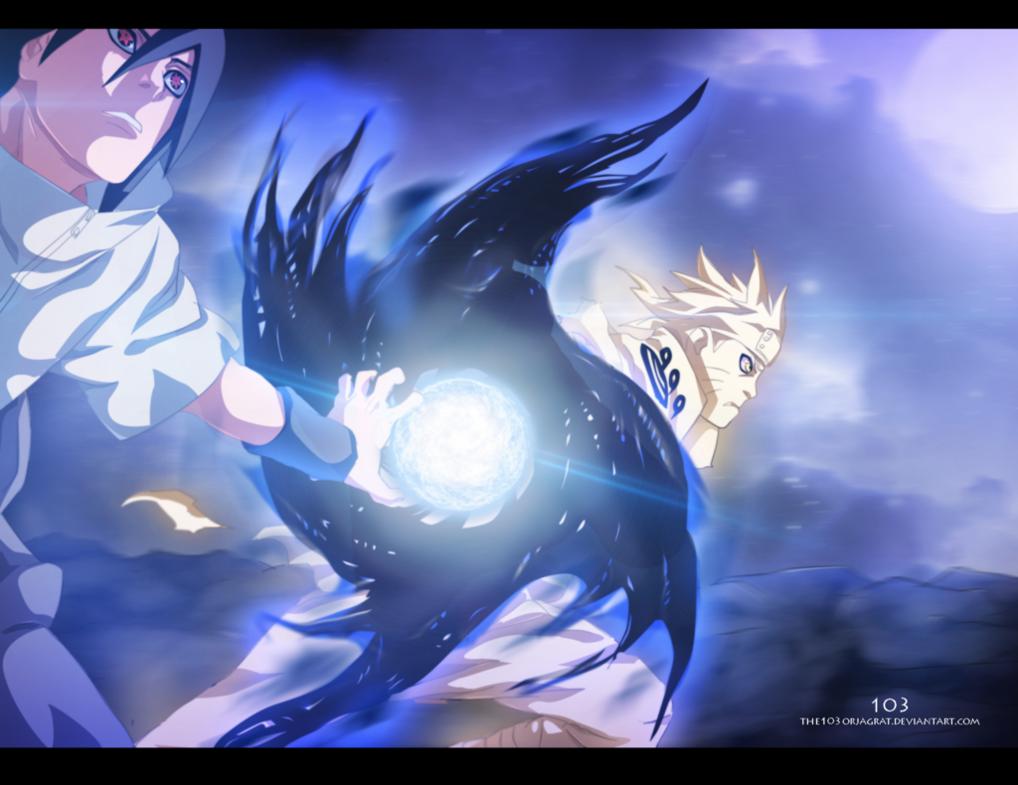 Naruto 641 Enton Rasen Shuriken Anime Awesome Anime Naruto