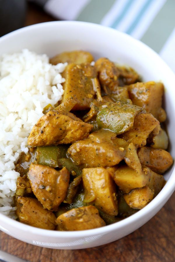 Jamaican chicken curry recipe chicken curry chicken curry jamaican chicken curry forumfinder Image collections