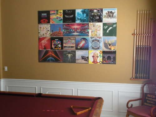 Hang Up Your Old Vinyl Records Record Room Vinyl Record Display Vinyl Record Storage Diy
