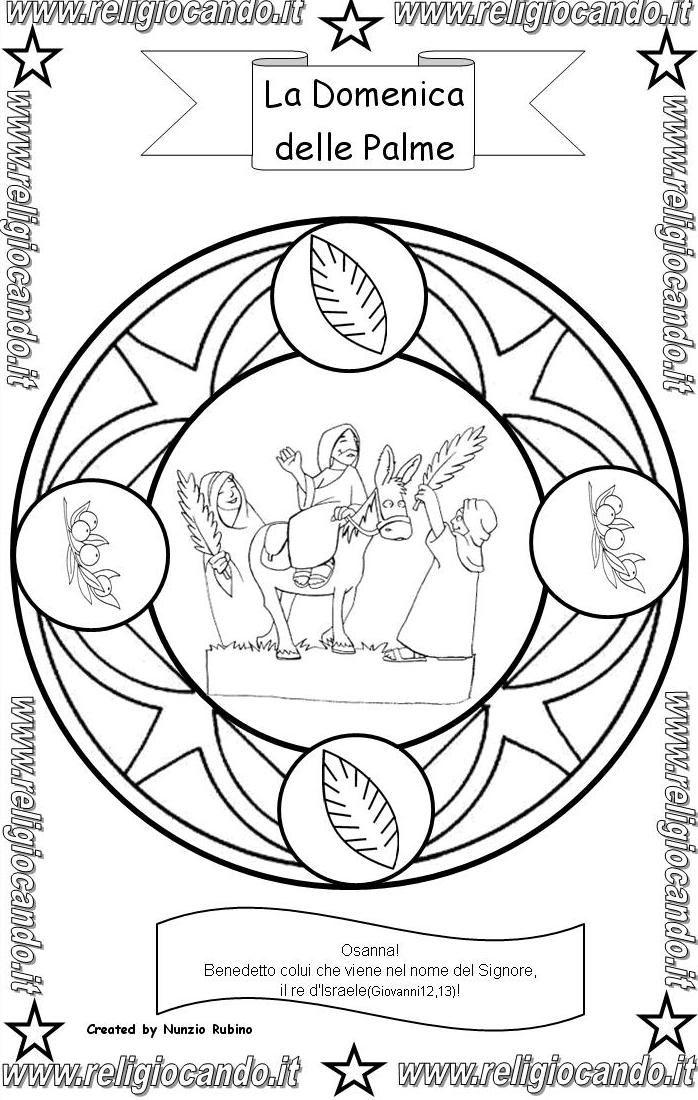 Domenica delle palme religiocando attivit per bambini - Libero clipart storie della bibbia ...