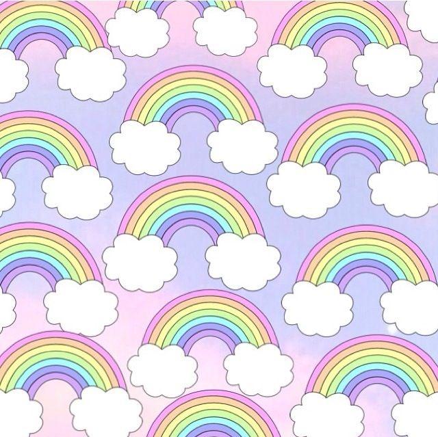 Cute rainbow iPhone wallpaper | W A L L P A P E R S ... Cute Rainbow Wallpapers