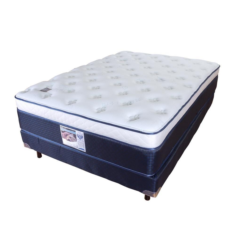 Compra de colchon y base spring air queen size aloe for Colchones de futon