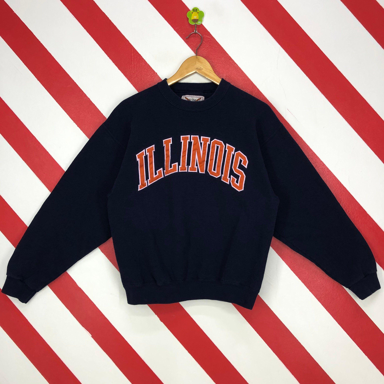 Vintage 90s Illinois University Sweatshirt Illinois Crewneck Etsy University Sweatshirts Sweatshirts Ohio State Sweatshirt [ 3000 x 3000 Pixel ]