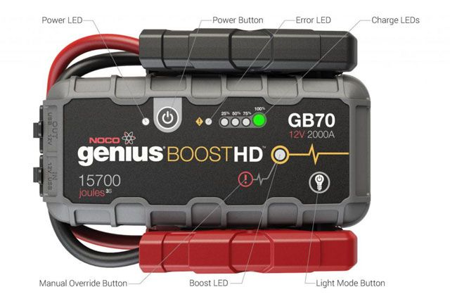Pin By Chris Wortham On Christmas List Lithium Jump Starter Charger Car Jump A Car Battery