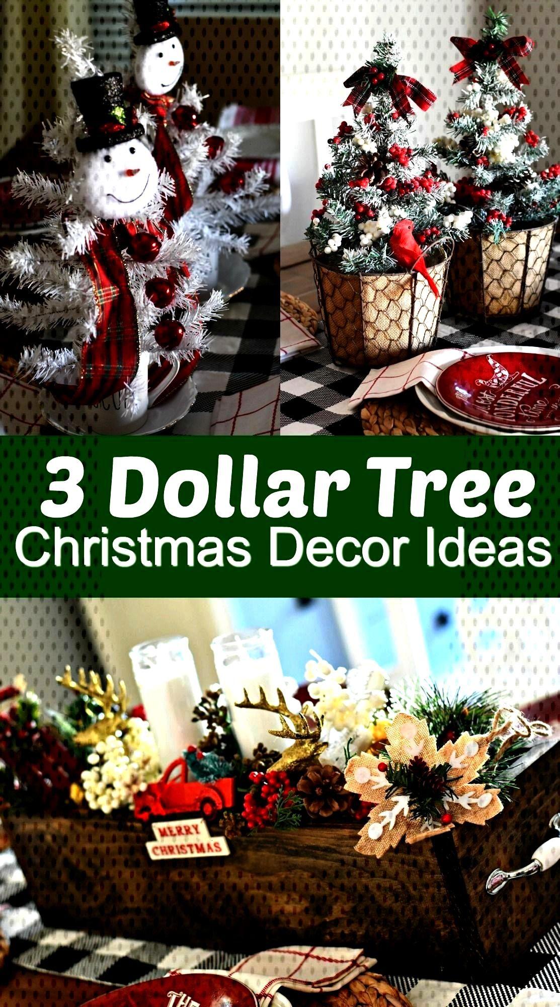 Simple & Fun DIY Dollar Tree Christmas Centerpieces3 Simple & Fun DIY Dollar Tree Christmas Centerp
