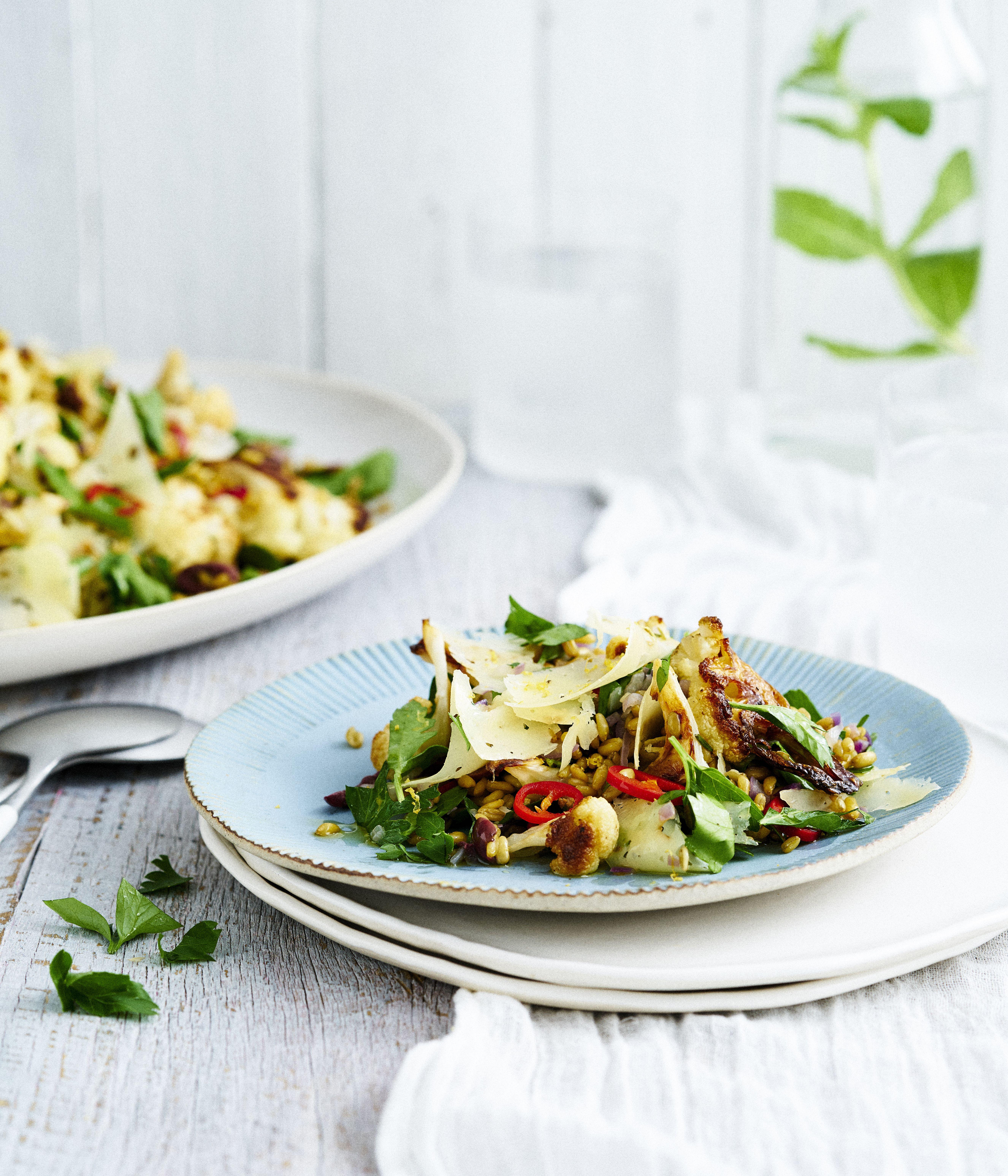 Yields farro and cauliflower salad recipe sydney salad and yields farro and cauliflower salad recipe sydney salad and salad dressings forumfinder Images