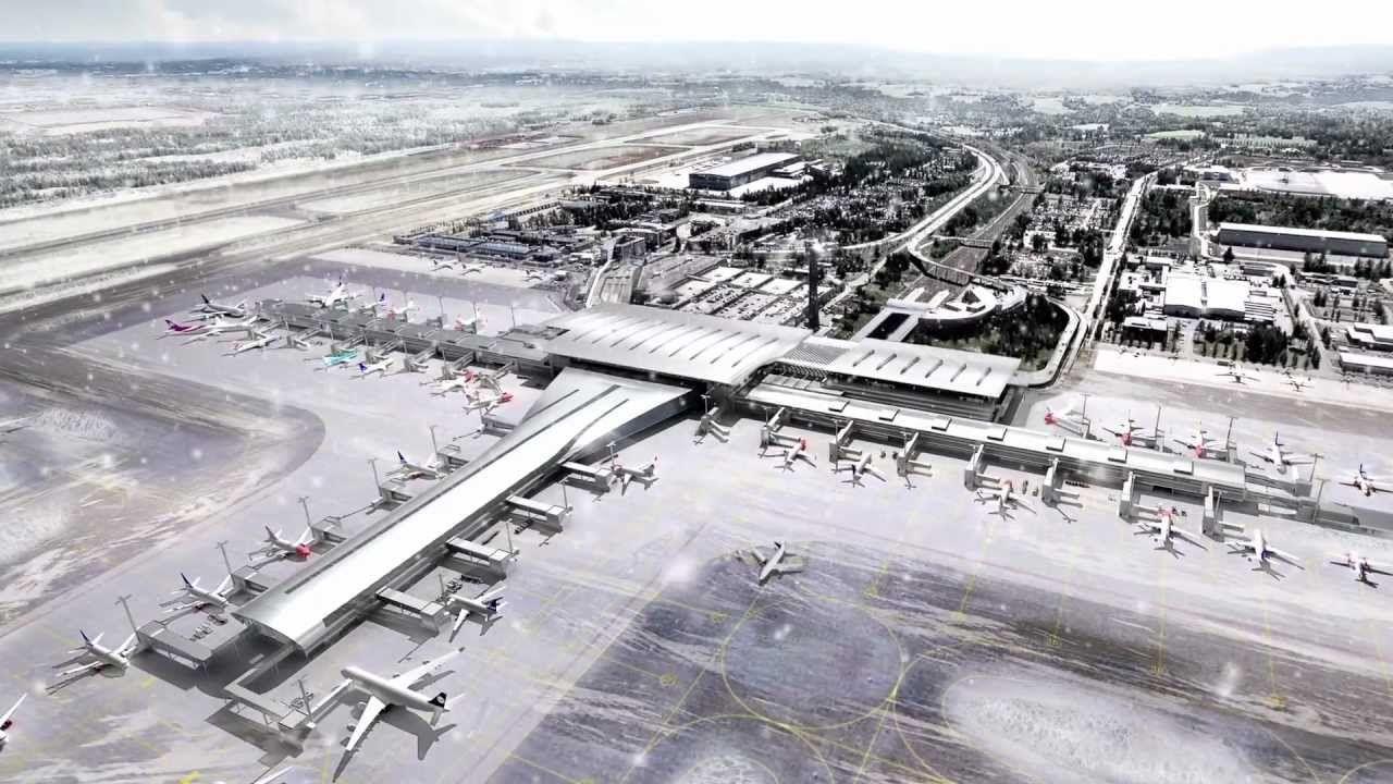 Oslo Lufthavn i 2017