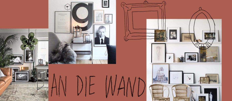 bilderwand gestalten ideen f r eine tolle wanddekoration bilderwand gestalten bilderwand und. Black Bedroom Furniture Sets. Home Design Ideas