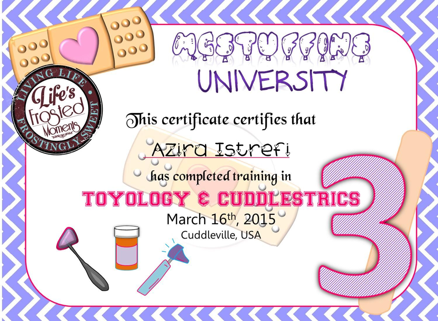"Downloadable Doc McStuffins PERSONALIZED ""McStuffin\'s University ..."